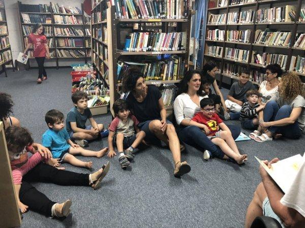 הספרייה תפתח השבוע ביום חמישי 17:00-19:00