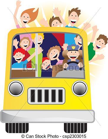 אוטובוס-אור-שמש-וקטור-קליפ-ארט csp2303015
