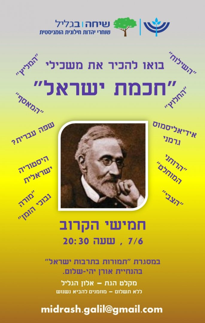 משכילים יהודיים במודרנה -  מפגש תמורות
