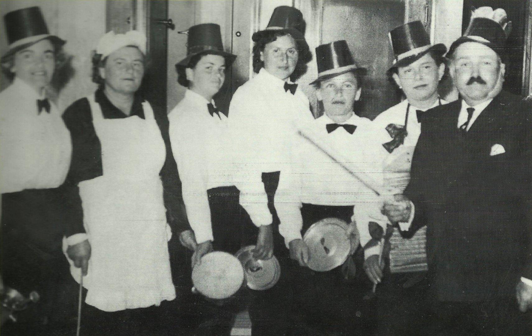 פורים בשנות החמישים-תמונה