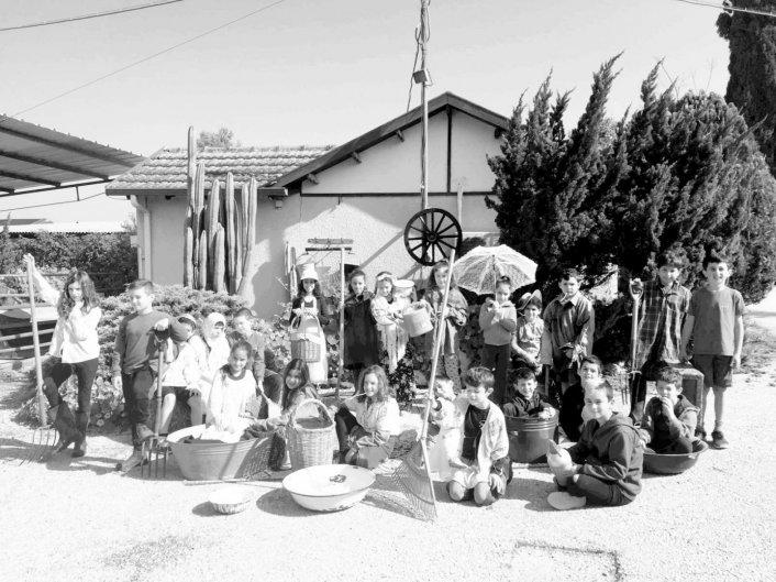 יום ישובים של יסודי נהלל- בית שערים מארחים את שכבת ג