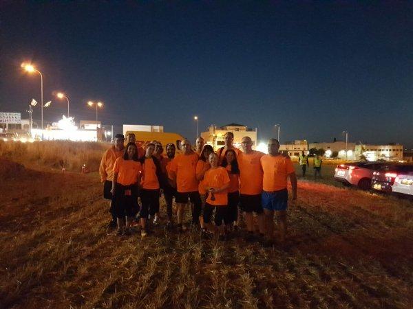 מועדון ריצה בית העמק בריצת לילה בזרזיר