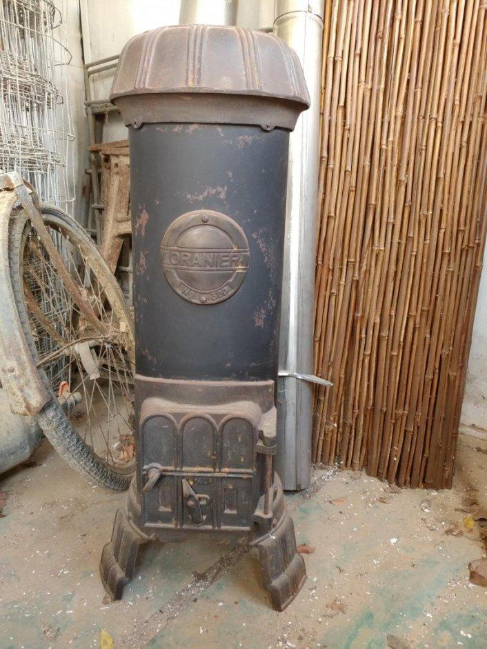 למכירה תנור חימום בעץ
