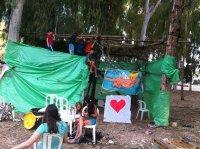סוכות ב׳ בסוכה הקהילתית