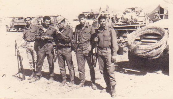 זכרונות ממלחמת ששת הימים (5.6.1967)