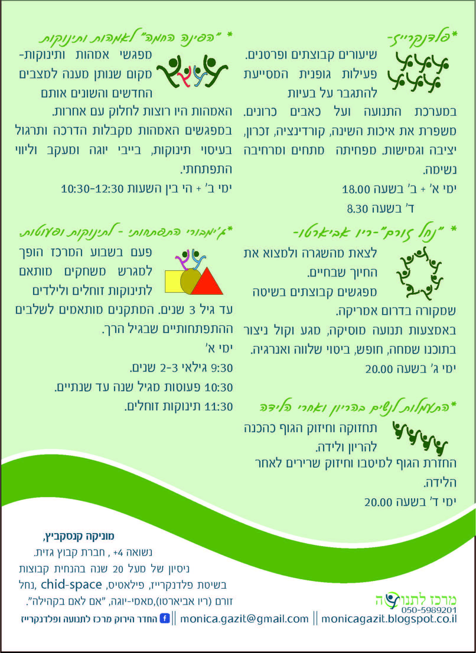 גלויה המרכז לתנועה Page 2