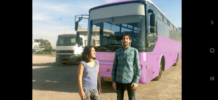 91% תמיכה ויומיים אחרונים לפרוייקט האוטובוס הורוד