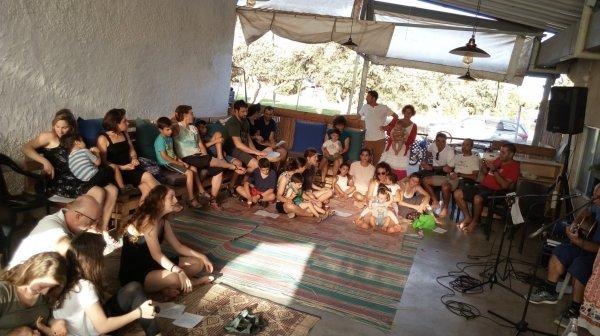 קבלת שבת קהילתית ב׳׳מחלבה׳׳ בסימן ט׳׳ו באב - תודה והזמנה להמשך :)