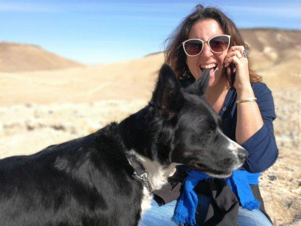 הכלבה פס נעלמה, היא עונדת קולר סגול, מי שראה אותה מתבקש להתקשר לחן 0546538869