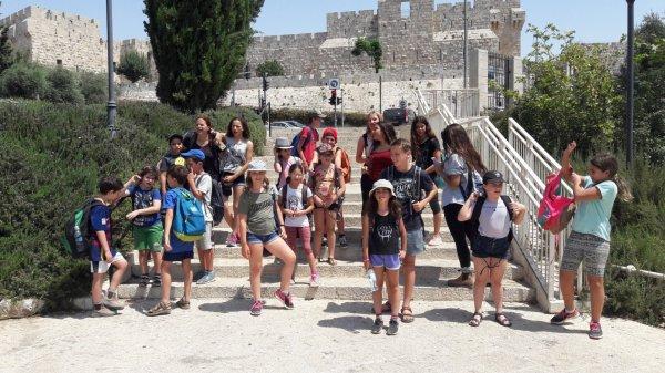 טיול סוף החופש - נוער נהלל עולה ירושלים