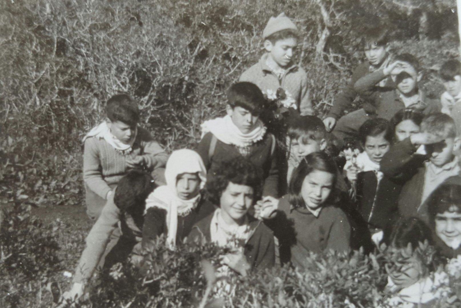 טיול jpg  1958 טיול לגבעות שמרון