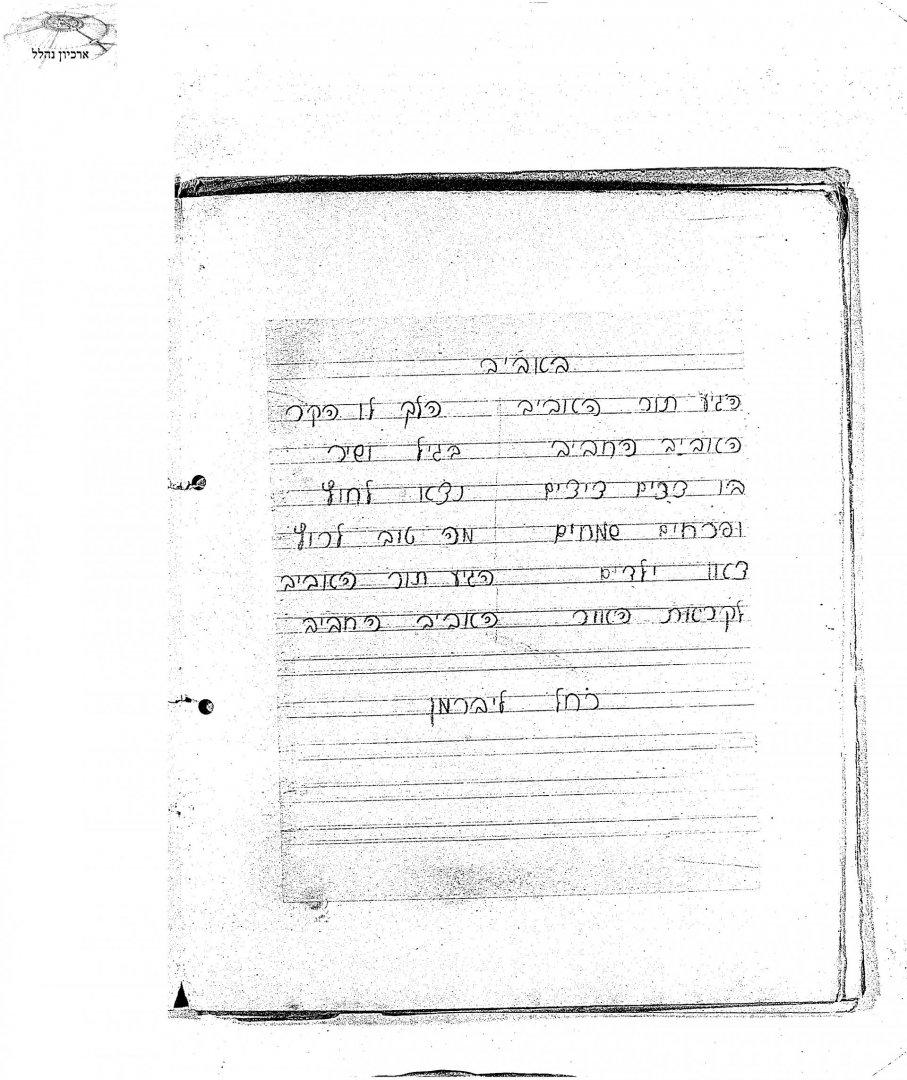 00240325 tif 16 שיר אביב רחל ליברמן 1931