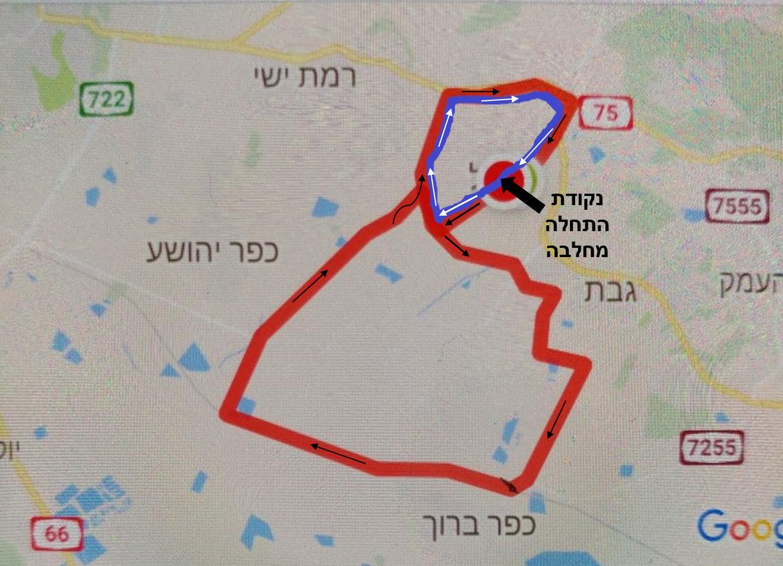 מסלולי טיול