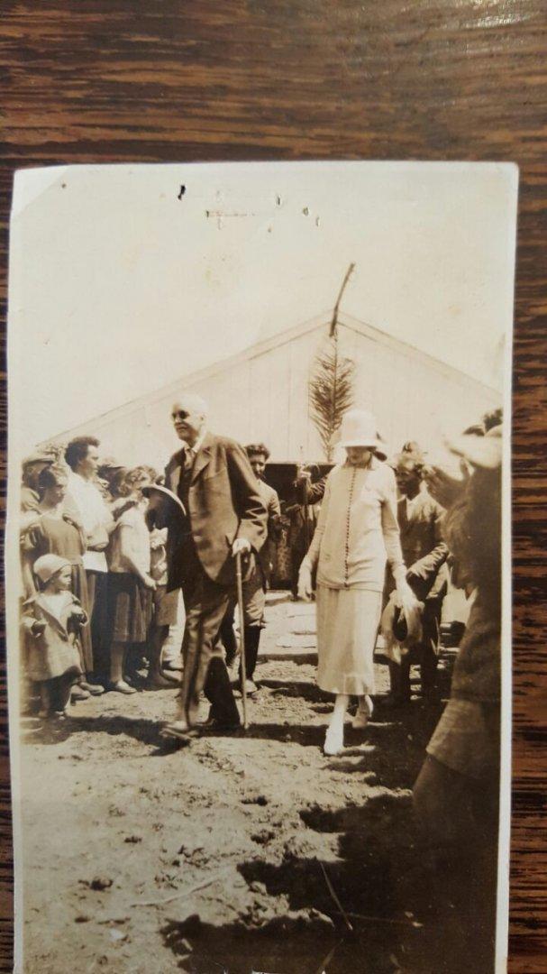 ביקור הלורד בלפור בנהלל 5.4.1925