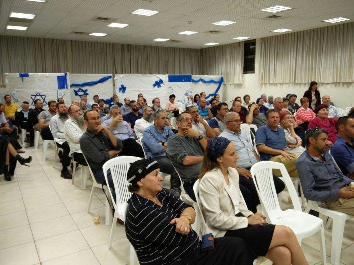 מצגת ותמונות מאסיפת התושבים