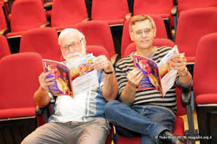 מפגש עם אפרים סידון ודני קרמן