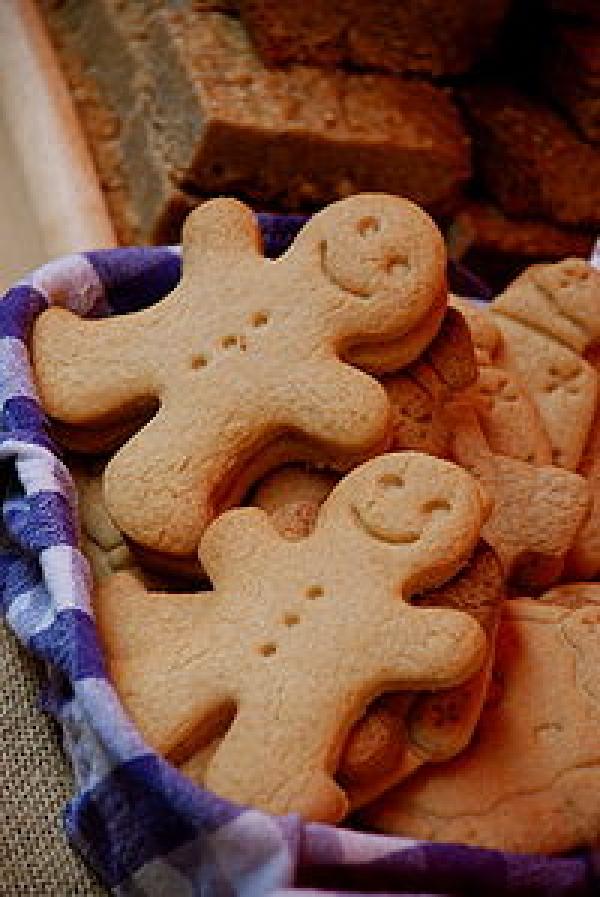 Recipie for Gingerbread ~ * ~ מתכון עוגיות לחם-זנגויל
