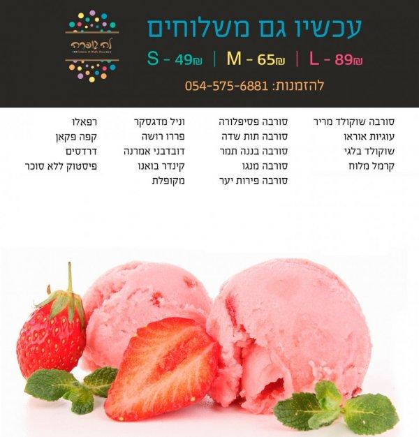 גלידה גלידה ......סופ׳׳ש מושלם לגלידה..