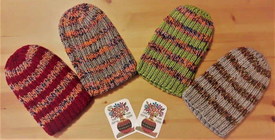 מתנה חברתית - כובעי צמר