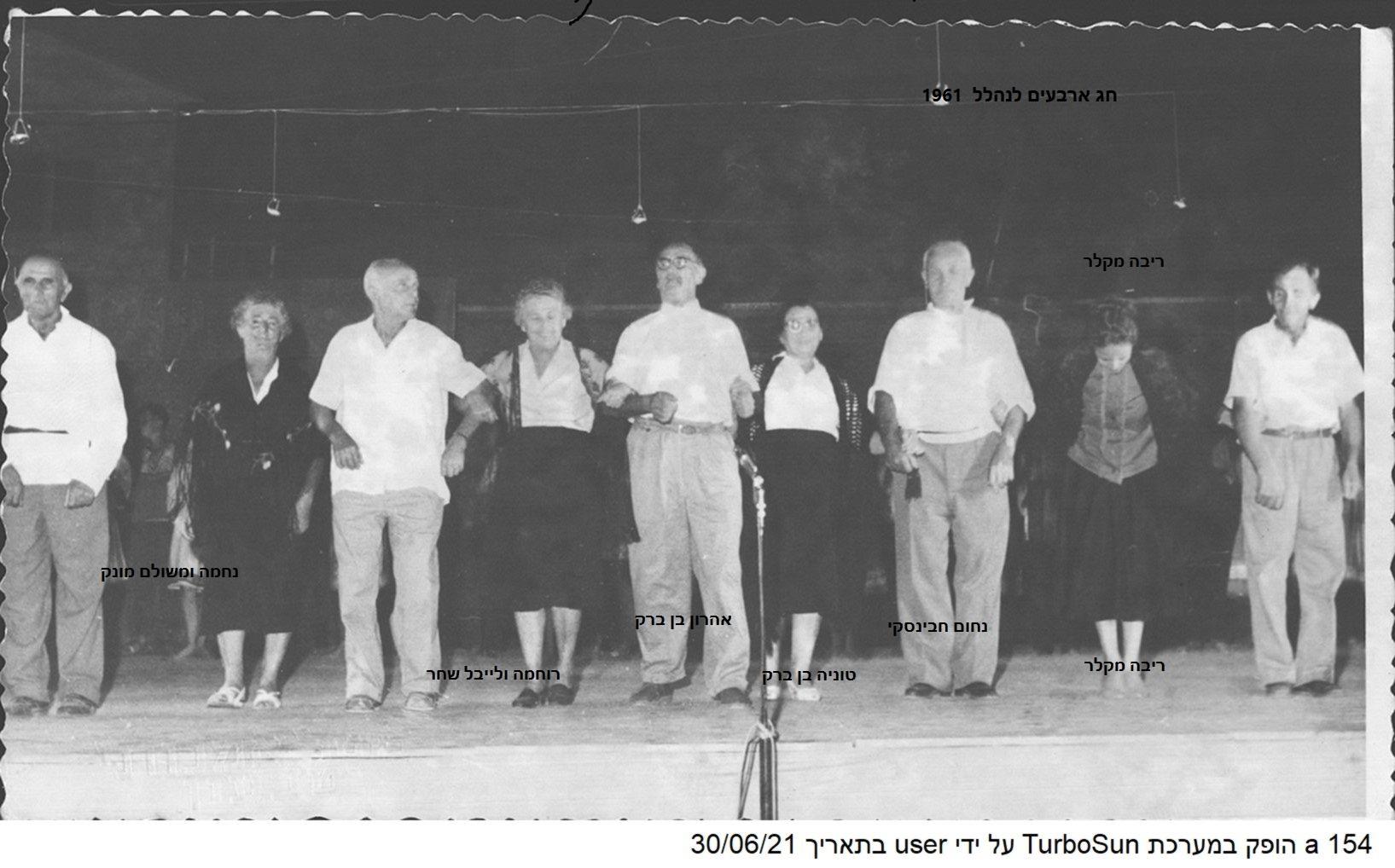 1961 ח אלול 40 לנהלל