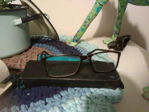 נמצאו משקפיים ליד הגנים